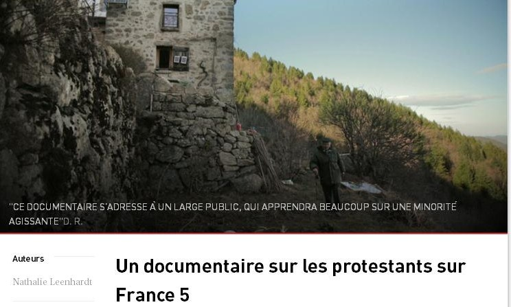 "Emissions sur France 5 "" Les Protestants de France"""